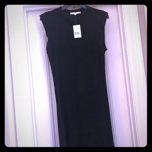 Dresses & Skirts - Black C&C California cap sleeve tank dress!
